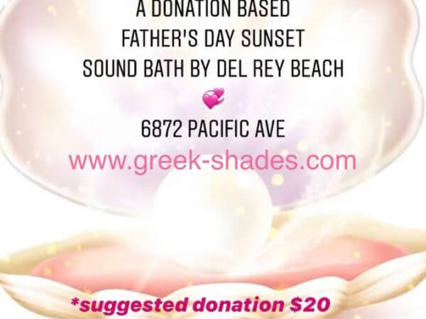 Soundbath Father's Day